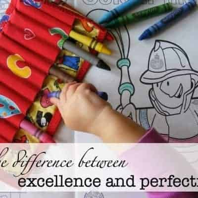 The Difference between Excellence and Perfection