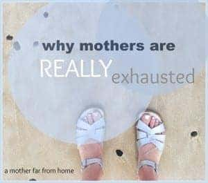 Here's the real reason why mothers are so exhausted #mother #parenting #children