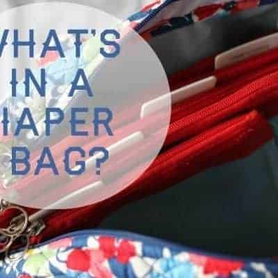 What's in a Diaper Bag?