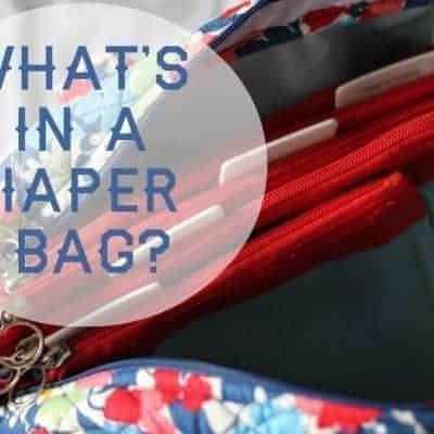 What's in a Diaper Bag?