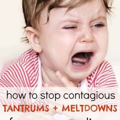 How to stop contagious meltdowns from spreading sibling-to-sibling