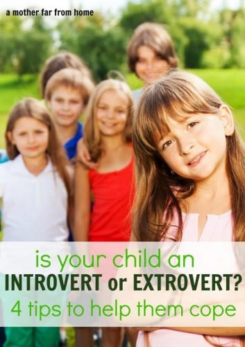 Helping your child understand and manage their introverted or extroverted tendencies. Great emotion management tips for moms