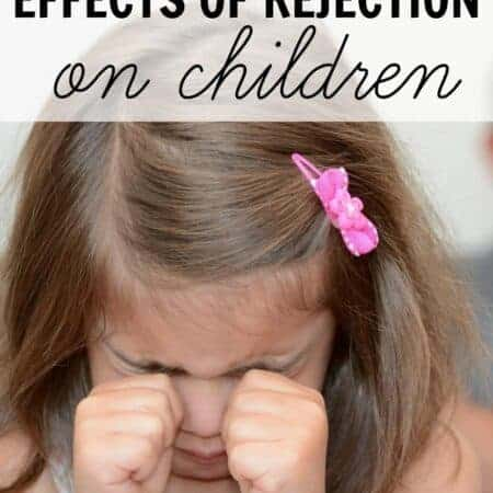 The effects of rejection in childhood