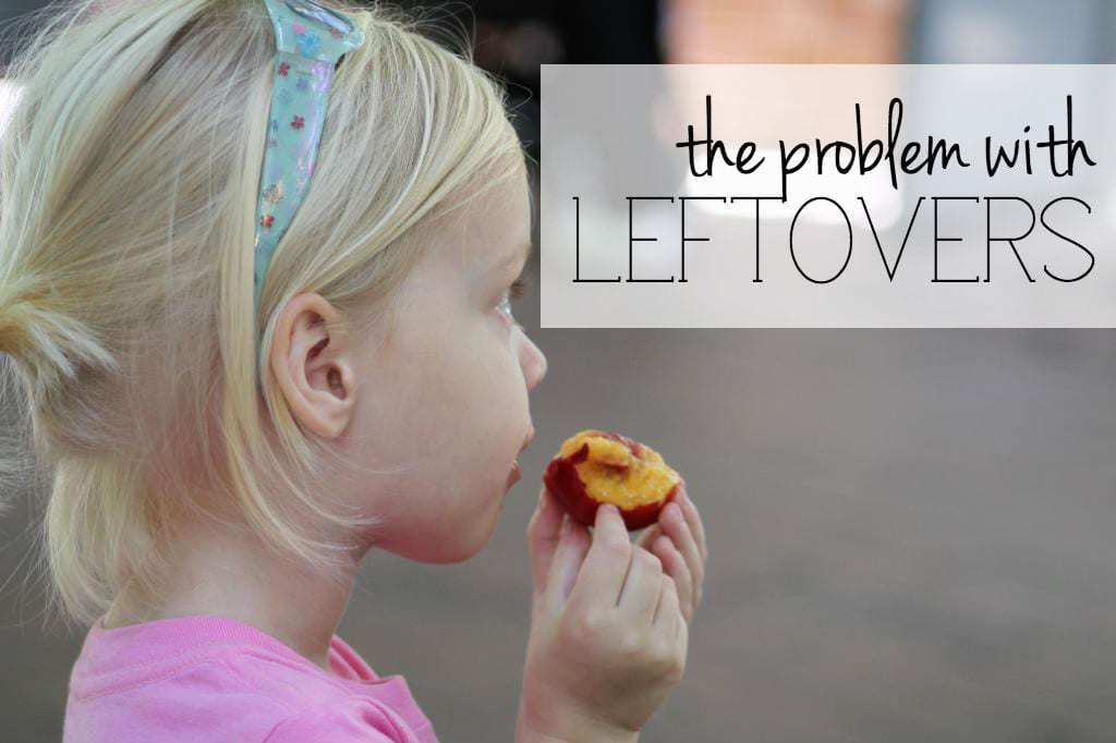 The problem with leftovers | Self-entitlement today