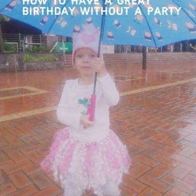 How to help your kids have a great birthday without a party and when you're far from home