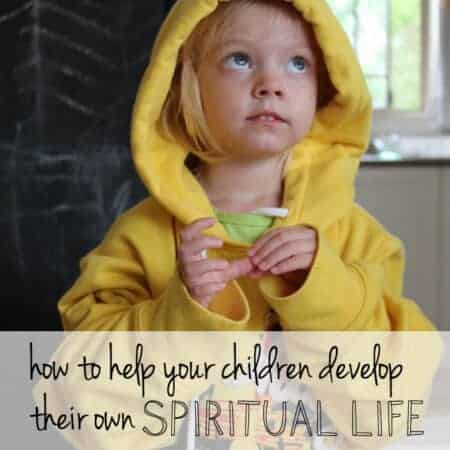 How to help your children have their own spiritual journey from an early age