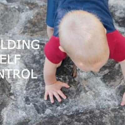 How to develop realistic levels of self-control in your children so they will be more obedient