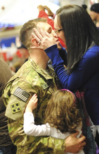Reunion after a deployment