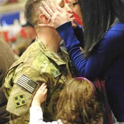 Tips on parenting through a deployment