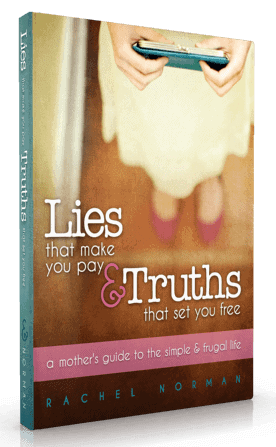 Lies that make you pay + truths that set you free (my ebook)
