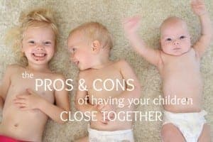The pros and cons of having babies close together #child spacing #family planning