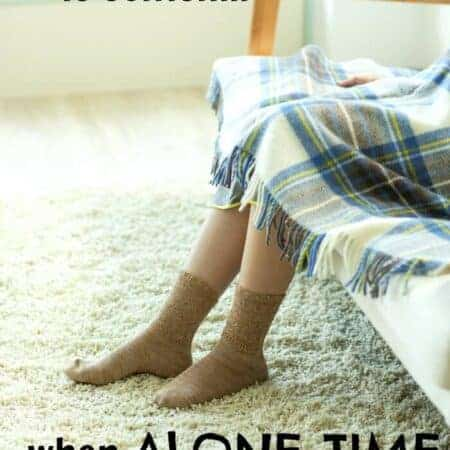 Time alone: selfish or smart?