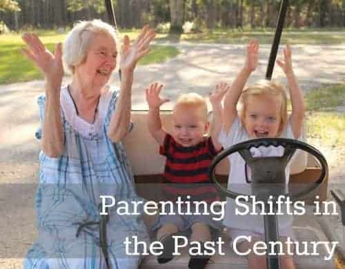 how parenting has changed in the past century