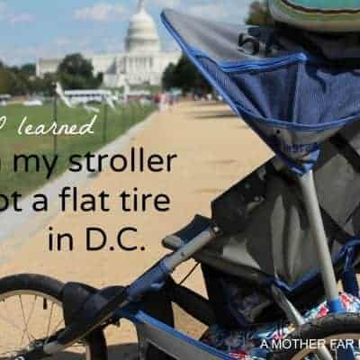 What I learned when my stroller had a flat in D.C.