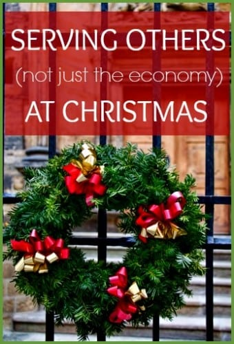 Instead of just serving the economy this holiday season, why not point others towards Christ? For some, Christmas represents loneliness and isolation, read tips on how to shine Jesus light during the holiday season