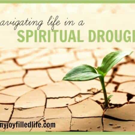 Signs of a spiritual drought (relief in a dry season)