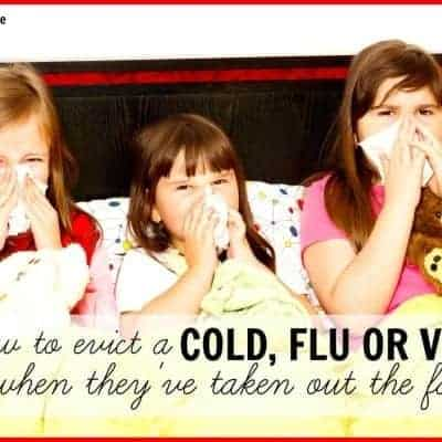 How to evict the cold, flu, and viruses when they take over your home