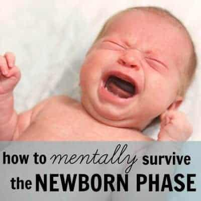 How to (mentally) get through the newborn phase