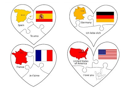 Love in Many Languages Puzzles