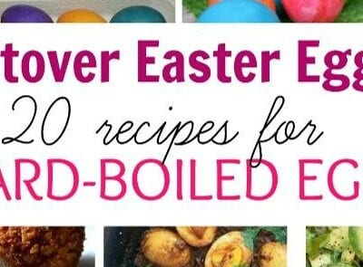 20 boiled egg recipes to cook with leftover Easter Eggs