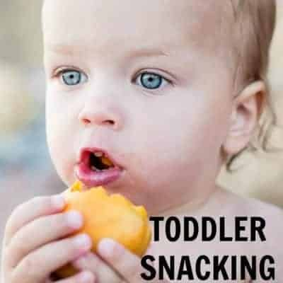 Snacking tips for babies and toddlers