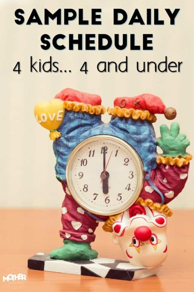 A Foolproof Sample Daily Schedule For Toddlers (Printables