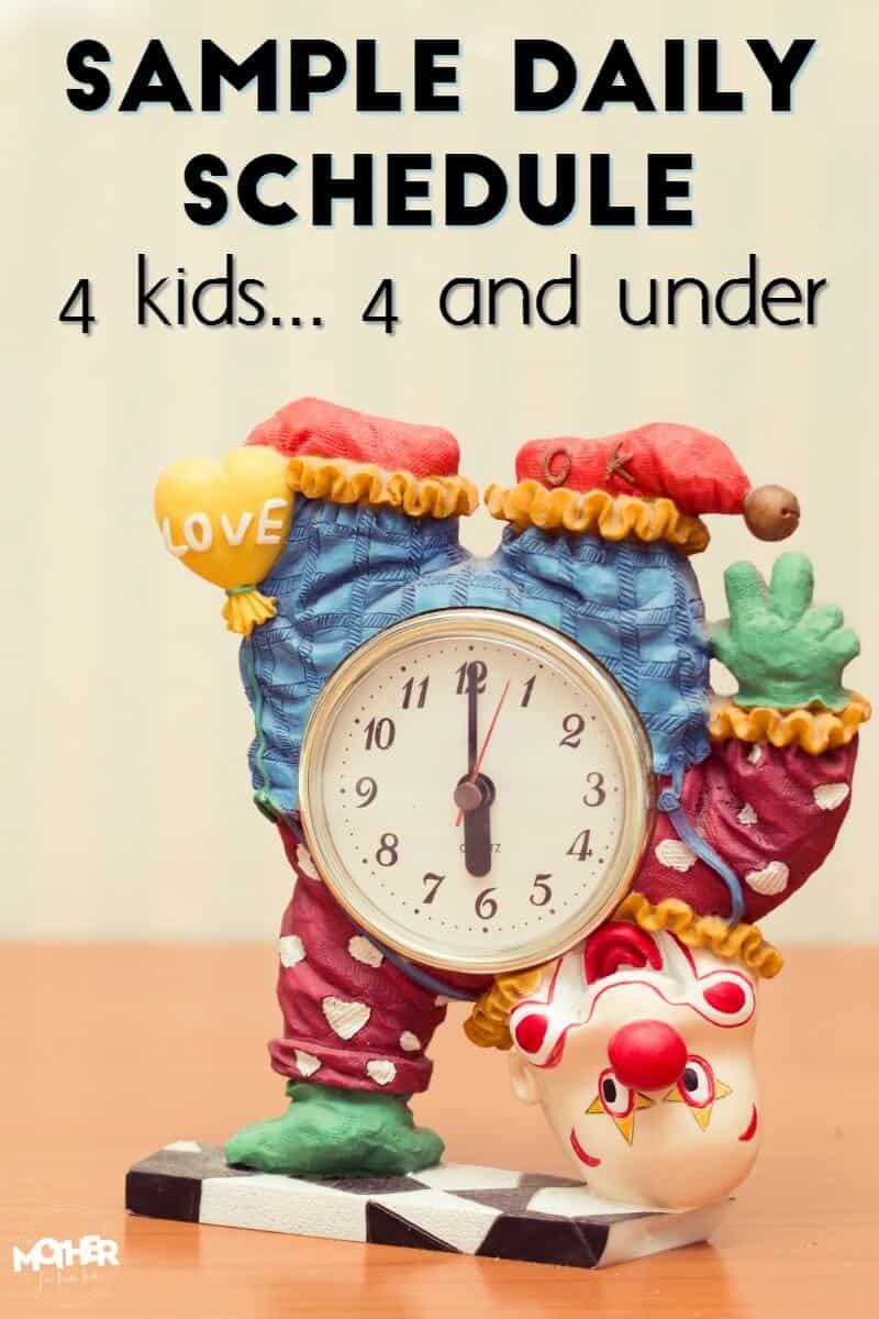 Need a sample daily schedule for toddlers? This post includes all you need to know to to help your little ones learn their own routine.