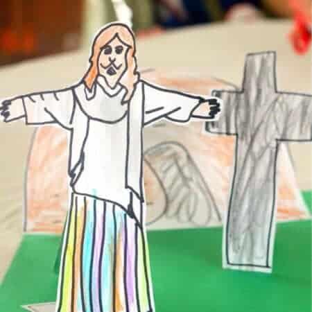 """He is Risen"" Easter Activity"