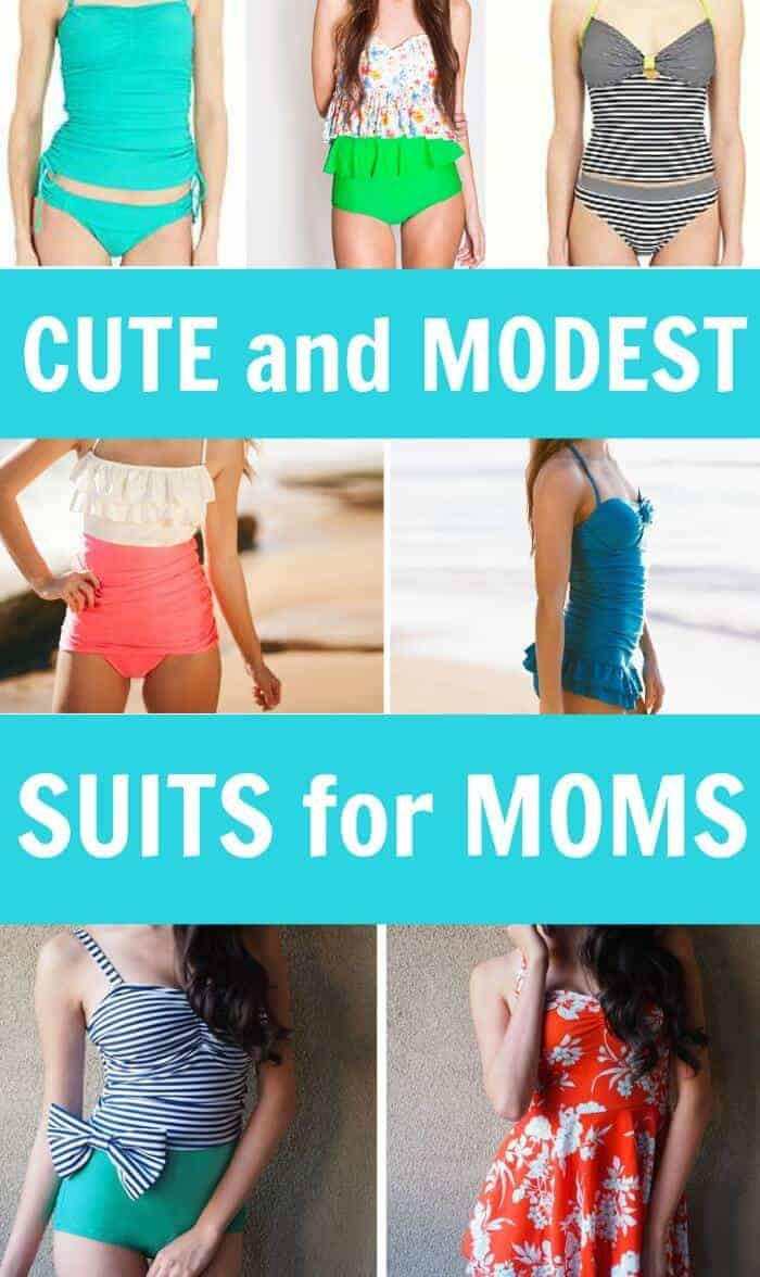 d8a4918271da0 cute and modest swimsuits for moms. Being a Floridian… I love ...