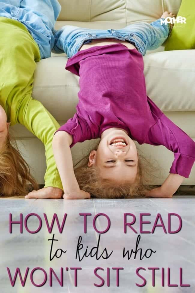 How to read to toddlers and preschoolers who won't sit still for a book! Good read for moms who want to encourage literacy.
