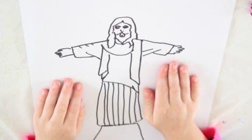 jesus is risen easter activity for preschoolers
