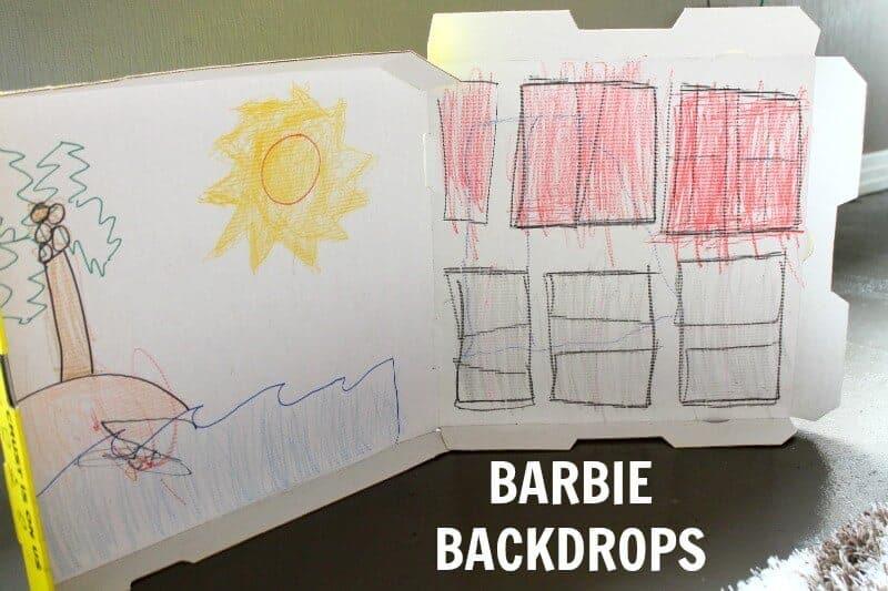 barbie backdrops