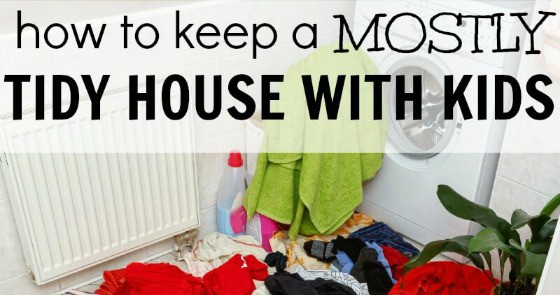 how to keep house clean and tidy
