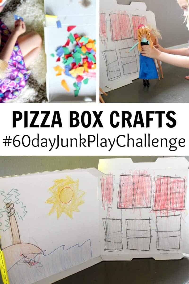 Pizza Box Craft