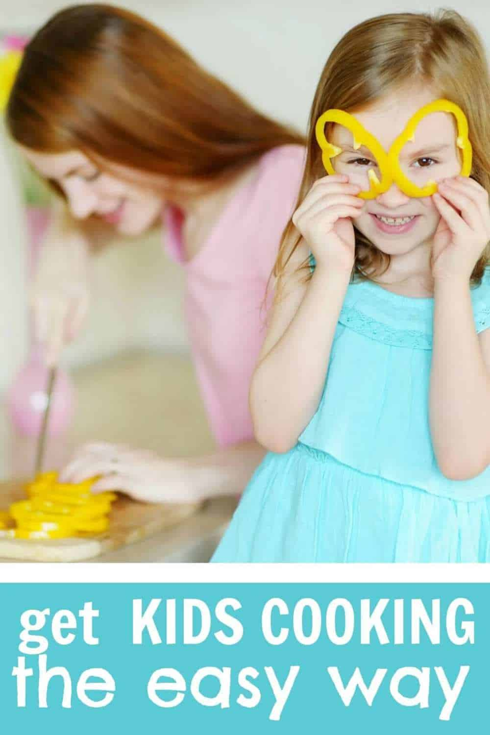 The easy way to get kids cooking
