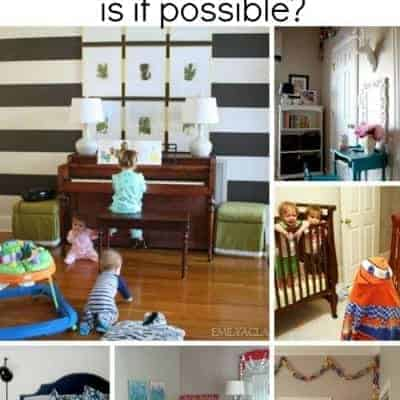 Creating a kid-friendly yet well-decorated home