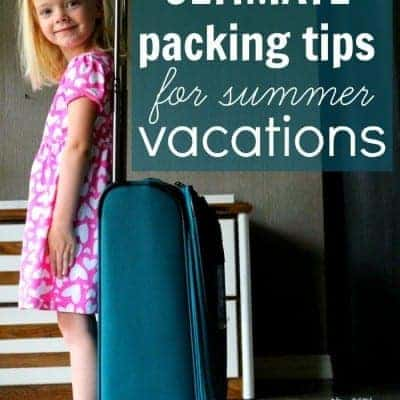 Ultimate Packing Tips for Summer Vacations (and a giveaway trip to Orlando)