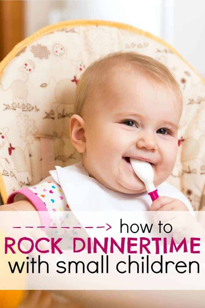how to rock dinnertime with small children