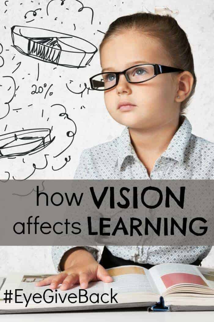 how vision affects learning