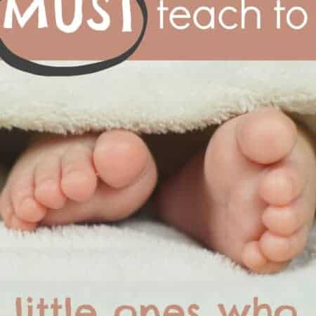 The thing you MUST TEACH little ones who share rooms with babies