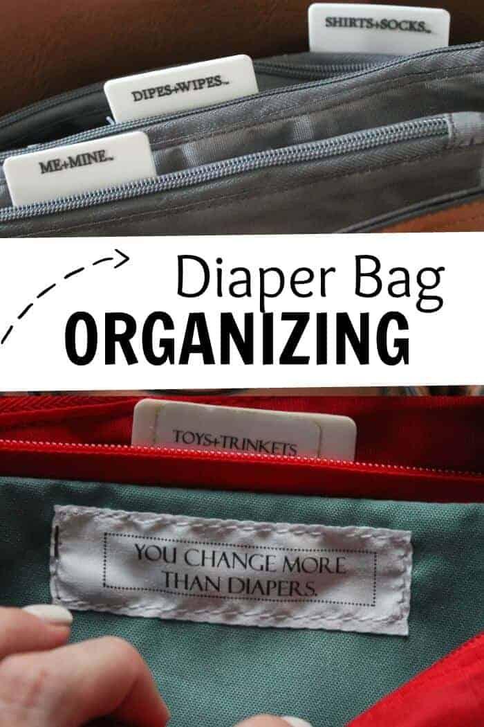 Diaper Bag Organizing