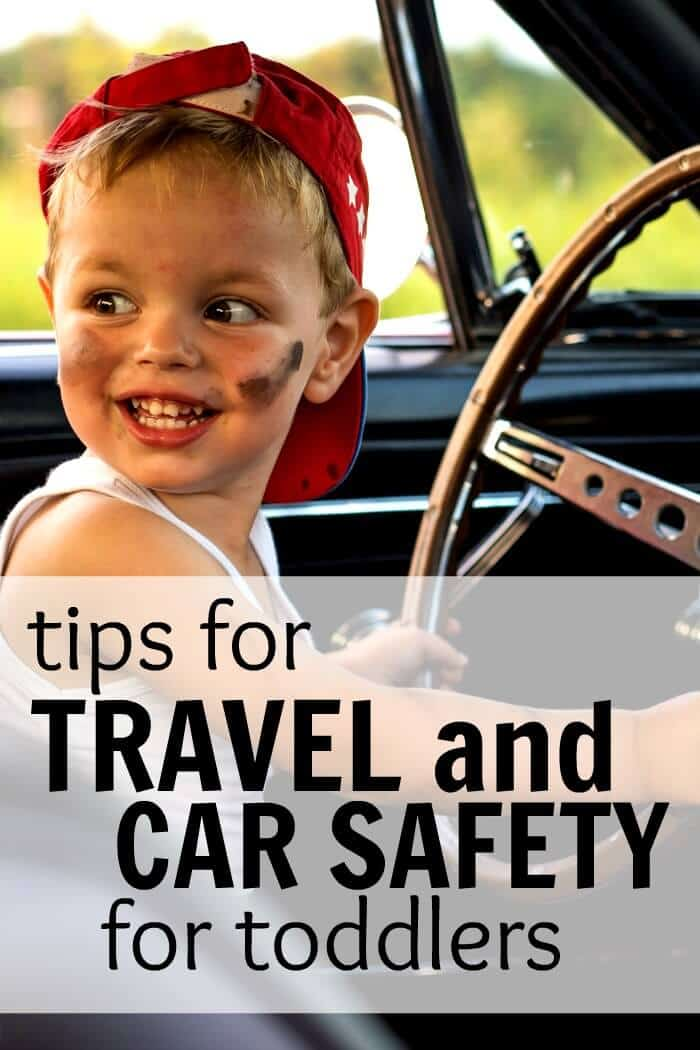 Tips for travel and car safety for toddlers