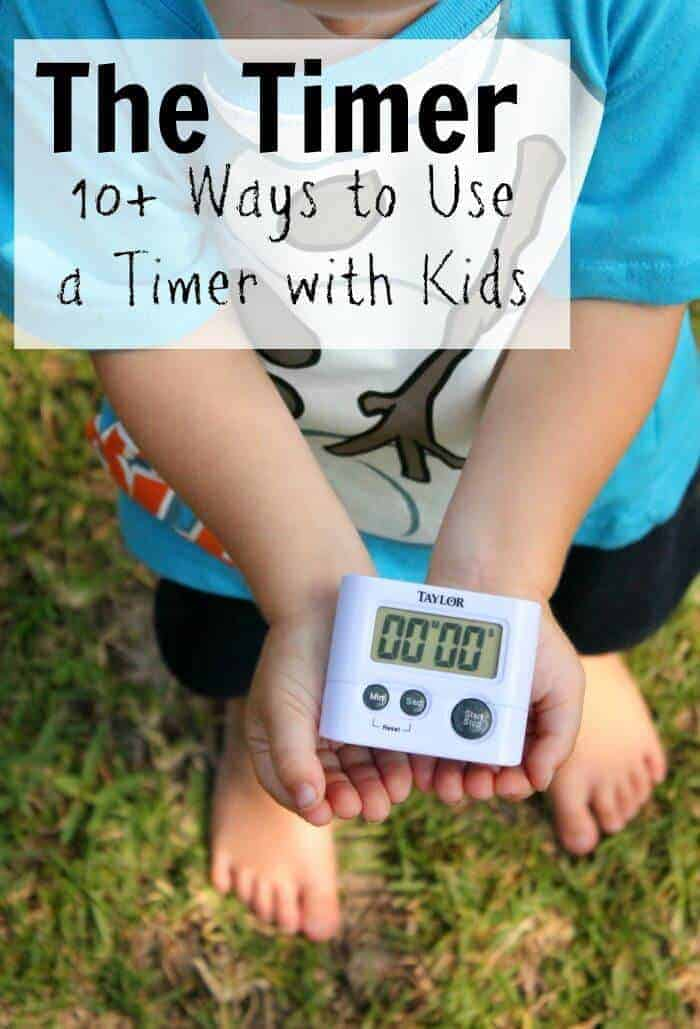 14 wyas to use a timer with kids