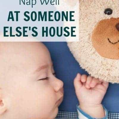The Challenge of Getting your Baby to Sleep at Someone Else's House
