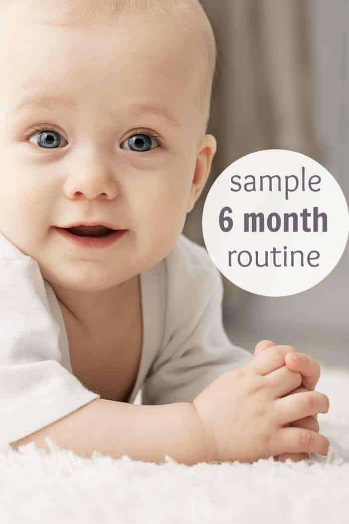 The 6 To 9 Month Routine That Makes For Happy Babies