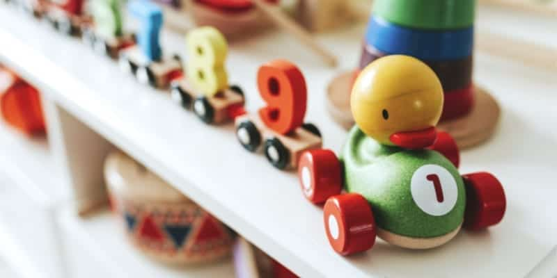 blocks and trains, how to keep kids busy