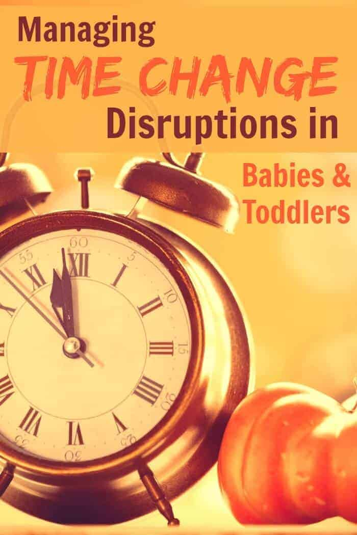 Are you worried about how the upcoming time change will affect your baby and toddlers sleep? Here are some great tips.