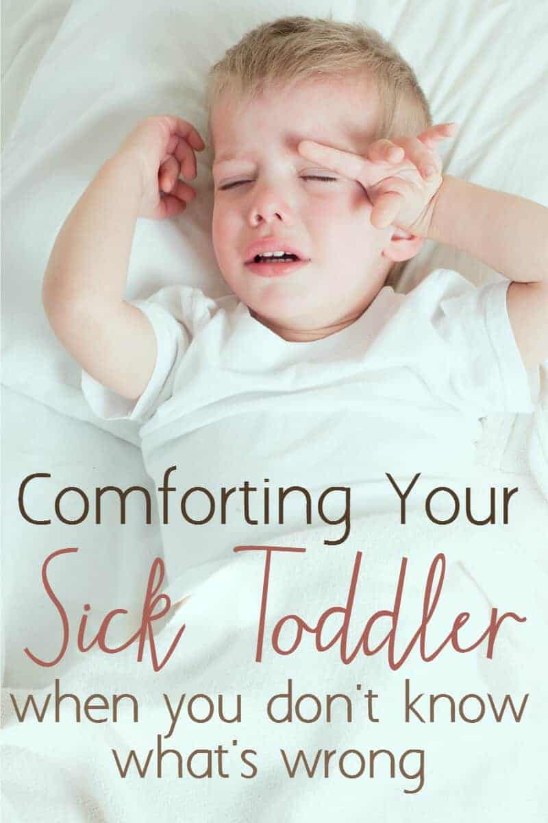 Do you have a sick baby or toddler who can't tell you what's wrong? Here are some ways to bring comfort and relief to your sick baby even if you aren't sure what's the matter.