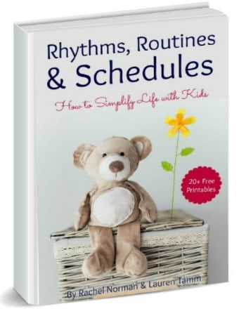 rhythms routines and schedules 3d