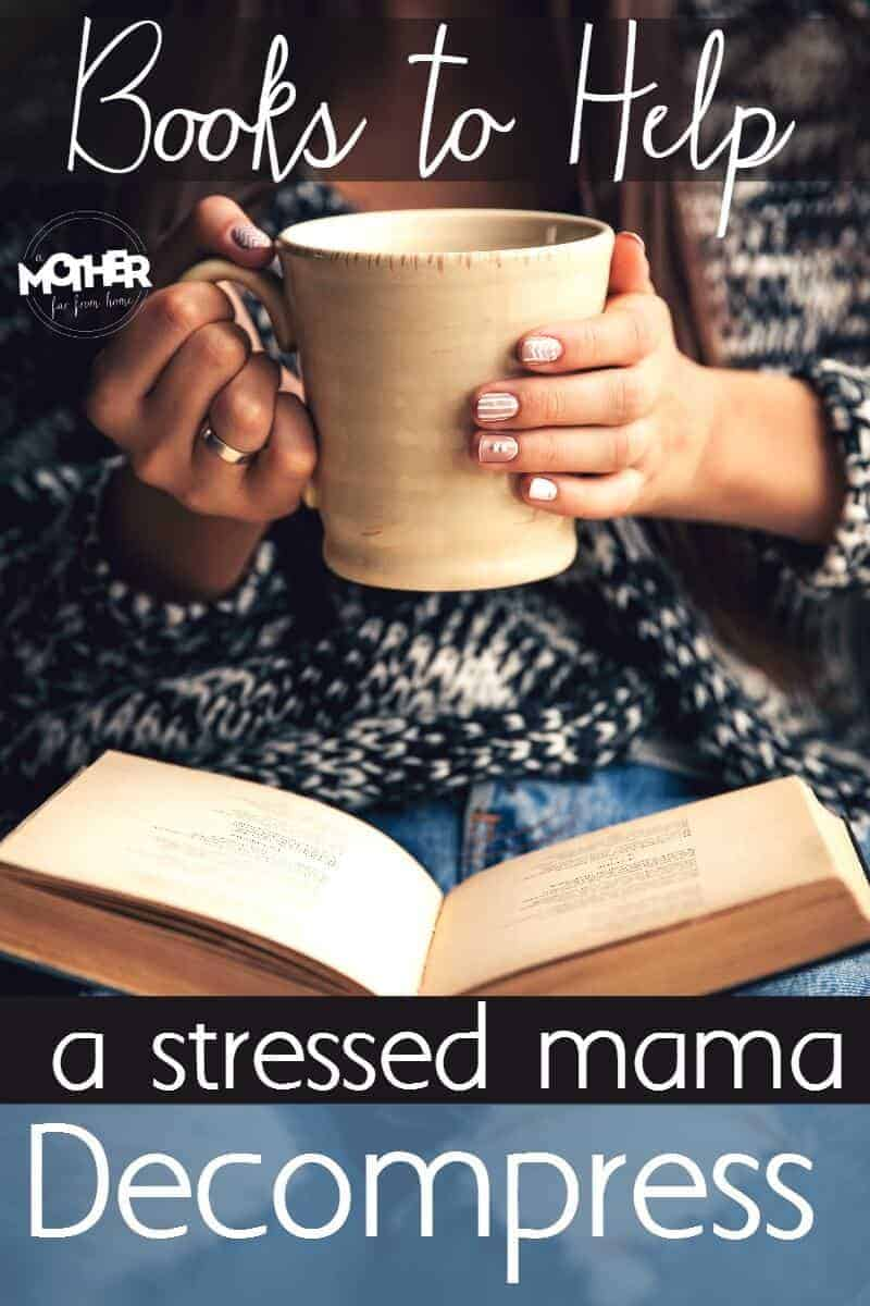 Love to read? Here are some series of books ,or groups of books that will help even the most stressed mom decompress.